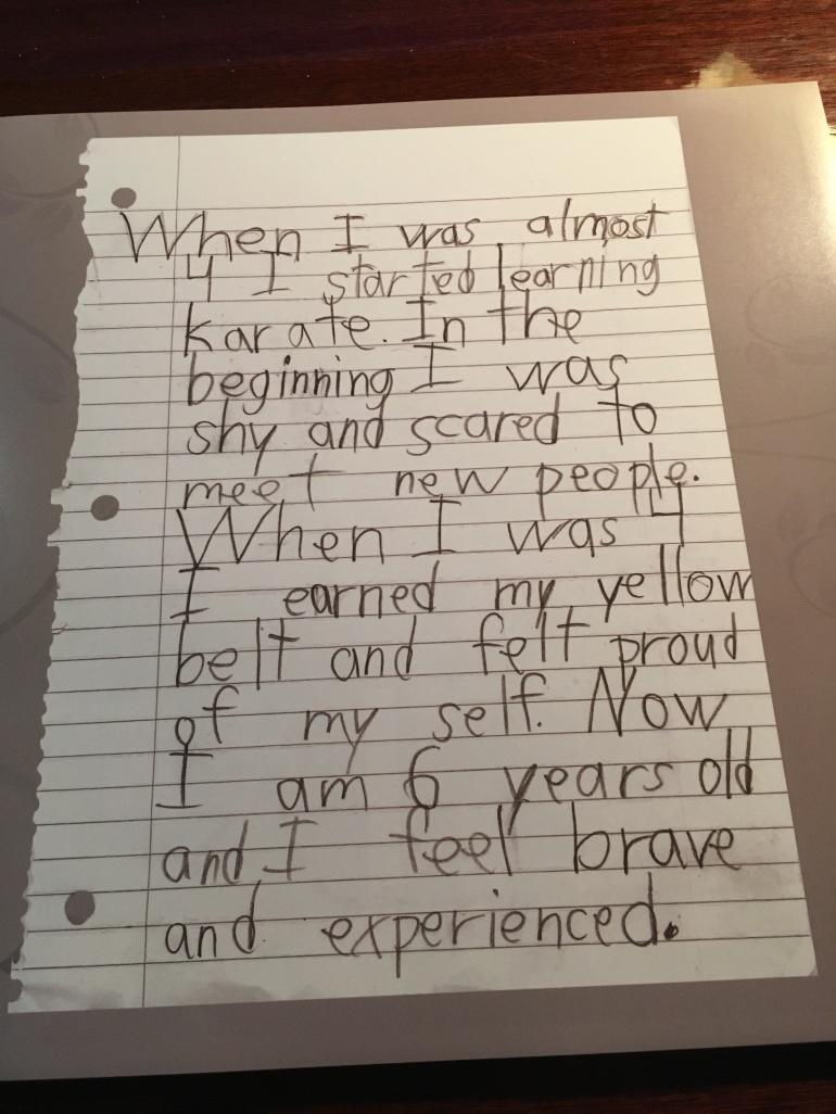 Beginner's Mind Project letter