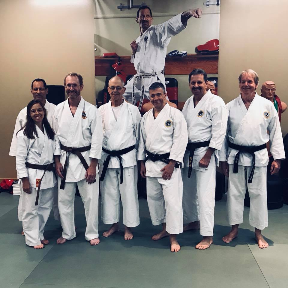 Brown Belt, 3rd Kyu Testing, September 2018